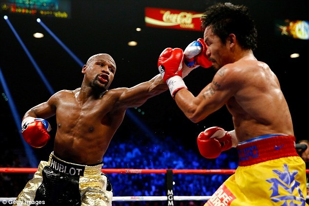 Mayweather khang dinh trong sach truoc tran thang Pacquiao hinh anh