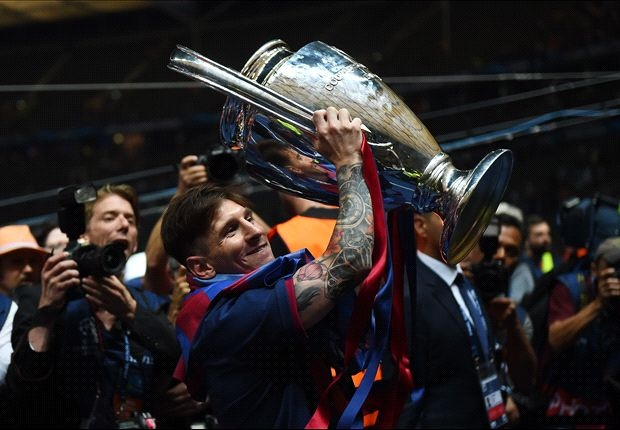 Messi - Ung vien so 1 Vua pha luoi Champions League mua nay hinh anh
