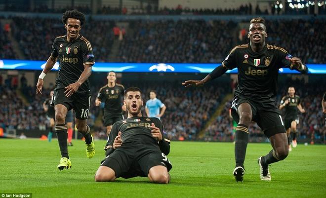 Cuu cau thu Real giup Juventus nguoc dong ha Man City 2-1 hinh anh 1