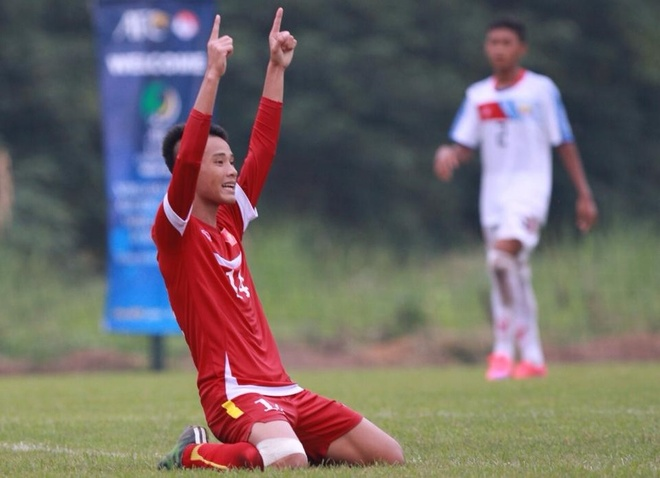 U16 Viet Nam ha Myanmar 5-1 tai vong loai U16 chau A hinh anh