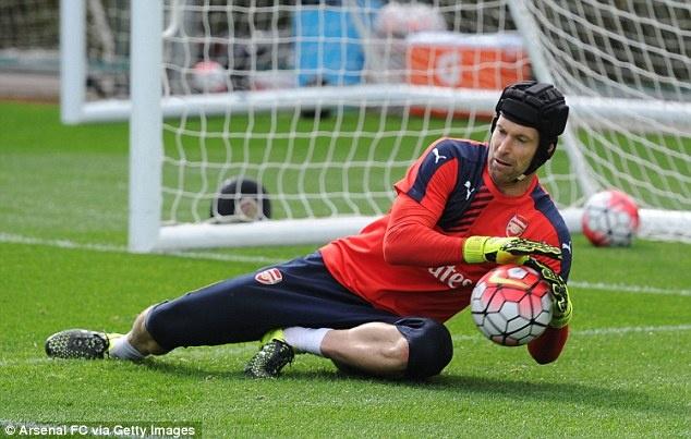 Petr Cech san sang cho cuoc doi dau voi Chelsea hinh anh