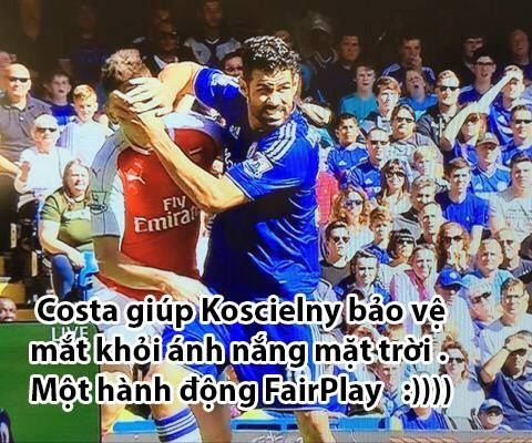 Anh vui vo si Diego Costa giup Chelsea chien thang hinh anh 5