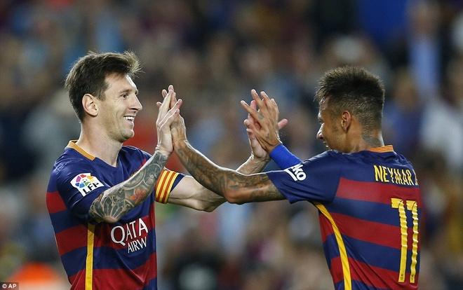 Messi lap cu dup giup Barca doi lai ngoi dau tu Real hinh anh