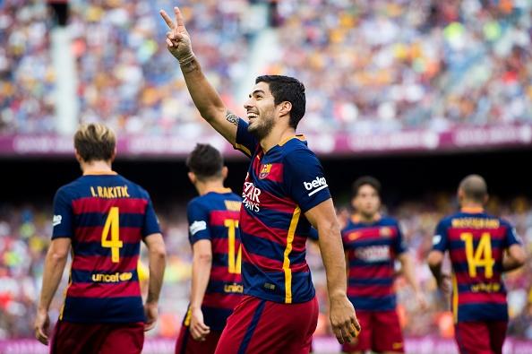 Suarez lap cu dup giup Barca ha Las Palmas 2-1 hinh anh 15