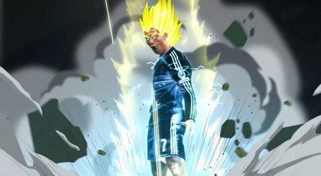 Anh vui ve Ronaldo sau khi vuot moc 500 ban thang hinh anh
