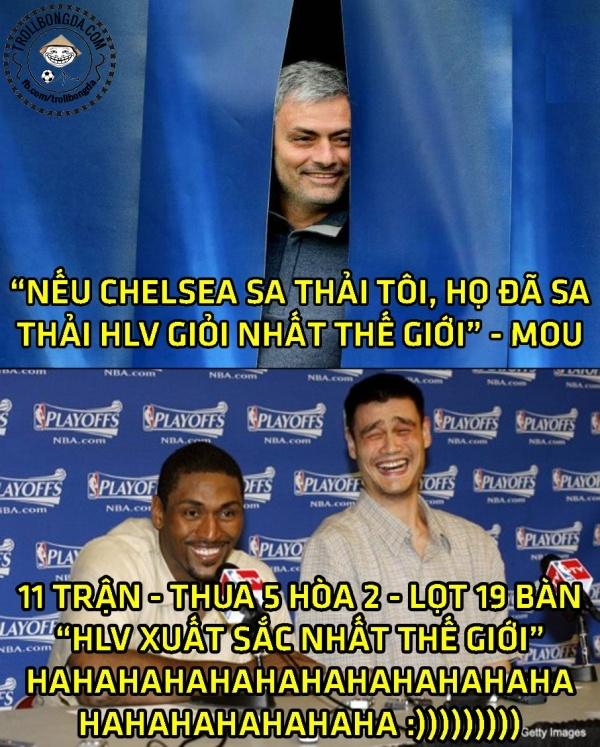 Anh vui Mourinho than khoc ve quyet dinh cua trong tai hinh anh 5