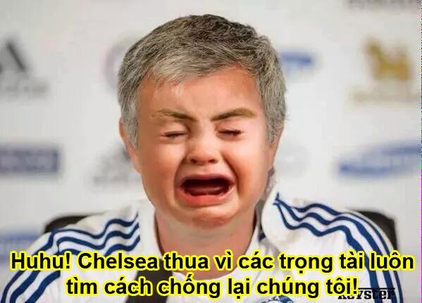 Anh vui Mourinho than khoc ve quyet dinh cua trong tai hinh anh 4
