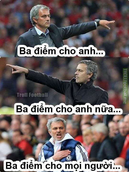 Anh vui Mourinho than khoc ve quyet dinh cua trong tai hinh anh 3