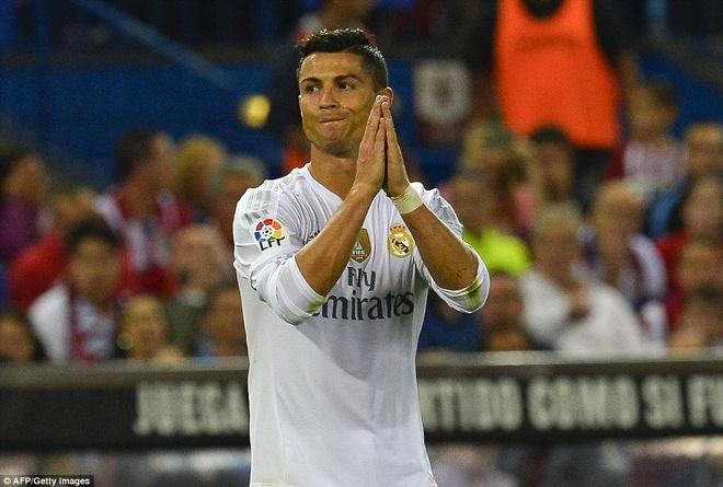 Ronaldo choi mo nhat, Real bi kim chan o derby Madrid hinh anh 3