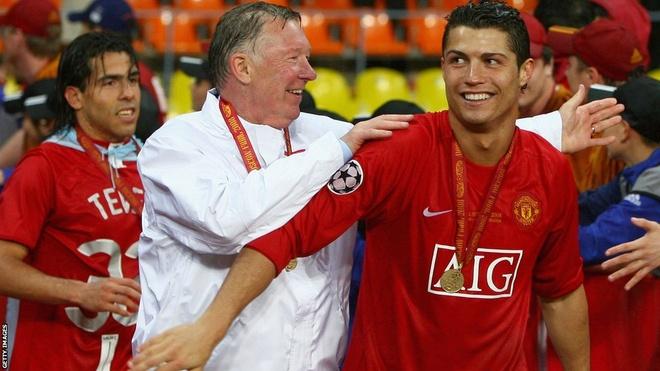Ronaldo noi ve con thinh no cua Sir Alex hinh anh