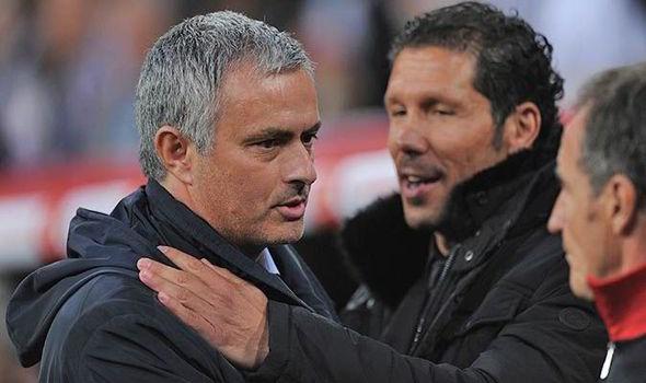 Chelsea nham Diego Simeone thay Jose Mourinho hinh anh