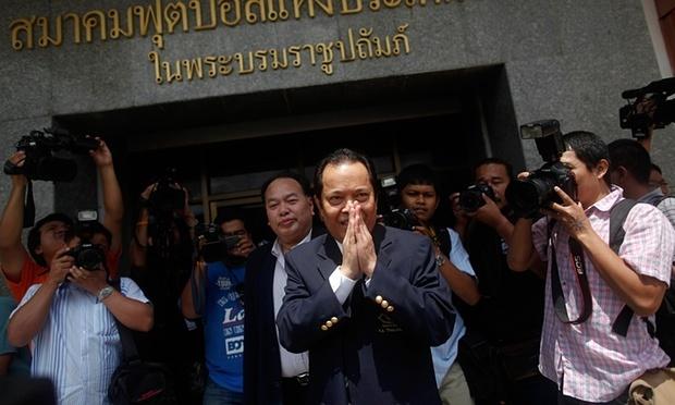 Chu tich LDBD Thai Lan bi dinh chi cong viec 90 ngay hinh anh 1