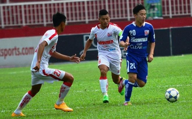 U21 TP HCM bi Gia Lai cam hoa 1-1 trong tran khai man hinh anh