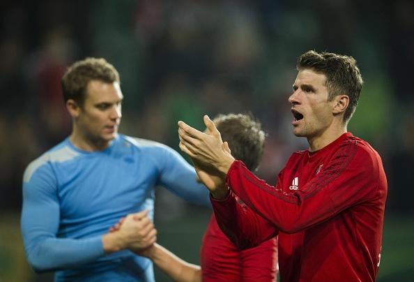 Mueller toa sang giup Bayern ha Wolfsburg 3-1 tai Cup Duc hinh anh