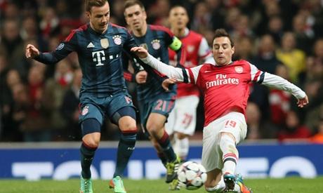 Lich thi dau ngay 4/11: Tam diem tran Bayern vs Arsenal hinh anh