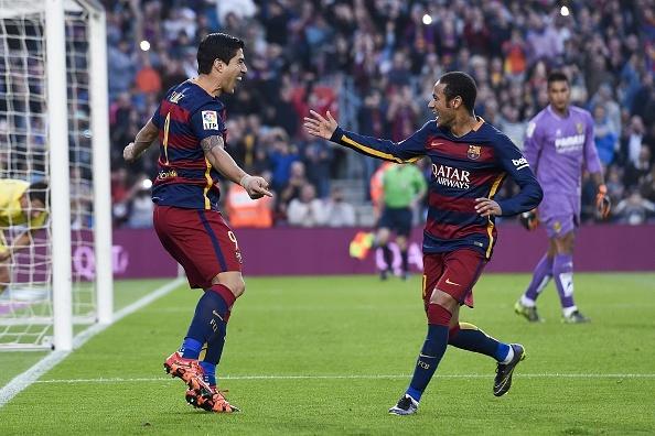 Neymar, Suarez giup Barca ha Villarreal 3-0 hinh anh