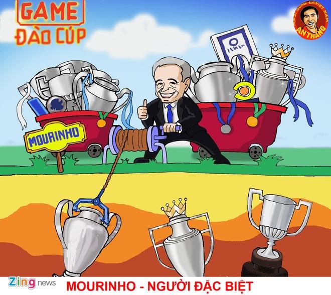 Hi hoa: Mourinho hoa ong gia Noel phat qua cho doi thu hinh anh 3