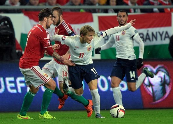 Danh bai Na Uy, Hungary doat ve du vong chung ket EURO 2016 hinh anh 8