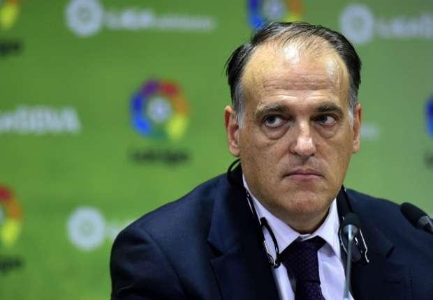 Chu tich La Liga thua nhan la fan Real Madrid hinh anh