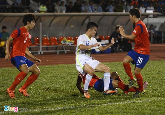 HAGL thua U19 Han Quoc 0-1 o tran khai man U21 quoc te hinh anh 25