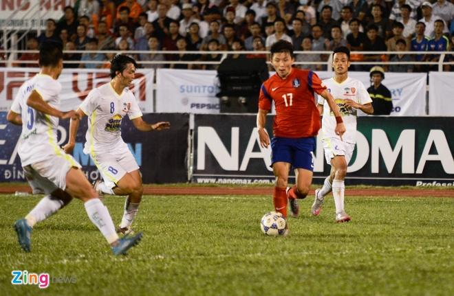 HAGL thua U19 Han Quoc 0-1 o tran khai man U21 quoc te hinh anh 27