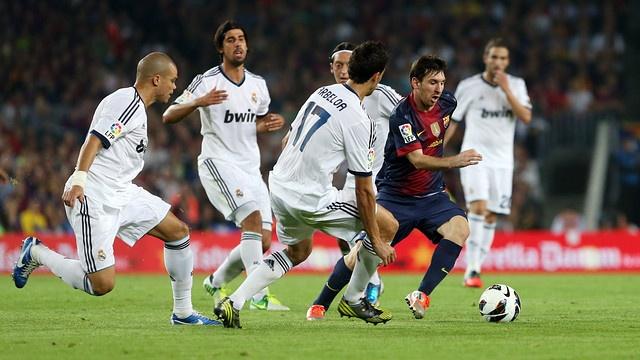 Ky luc 21 ban thang cua Messi vao luoi Real Madrid hinh anh