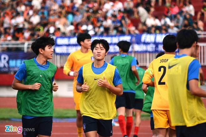 HAGL thua U19 Han Quoc 0-1 o tran khai man U21 quoc te hinh anh 4