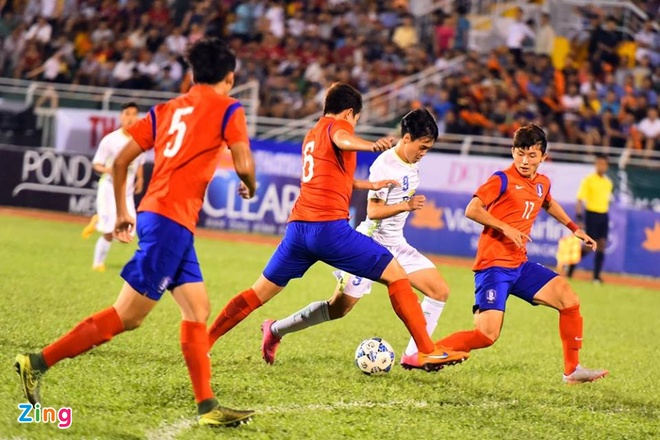 HAGL thua U19 Han Quoc 0-1 o tran khai man U21 quoc te hinh anh 13