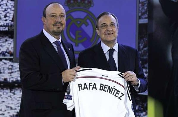 Real to chuc hop bao lam ro tuong lai cua HLV Benitez hinh anh
