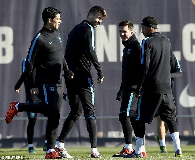 Messi san sang da chinh o cuoc tiep don Roma hinh anh 3