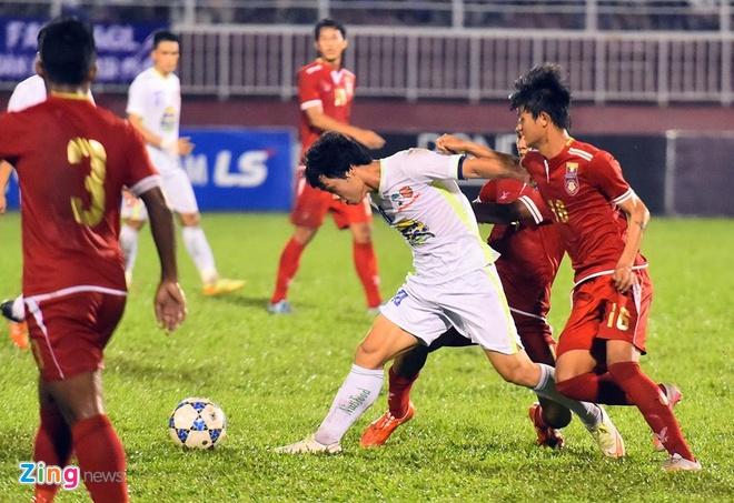 Danh bai Myanmar 4-3, HAGL gap U21 Viet Nam o ban ket hinh anh 27