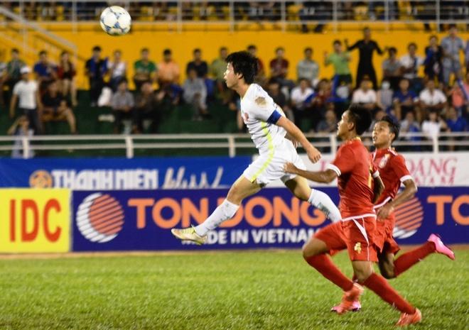 Danh bai Myanmar 4-3, HAGL gap U21 Viet Nam o ban ket hinh anh