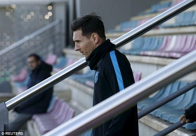 Messi san sang da chinh o cuoc tiep don Roma hinh anh 2