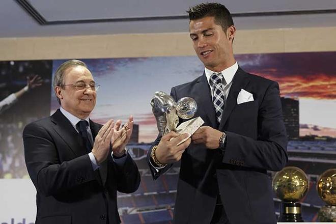 Chu tich Perez phu nhan len ke hoach ban Ronaldo hinh anh 1