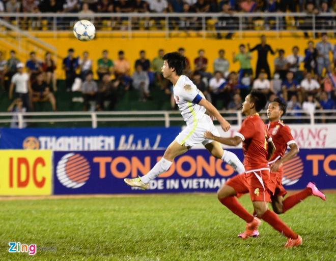 Danh bai Myanmar 4-3, HAGL gap U21 Viet Nam o ban ket hinh anh 1