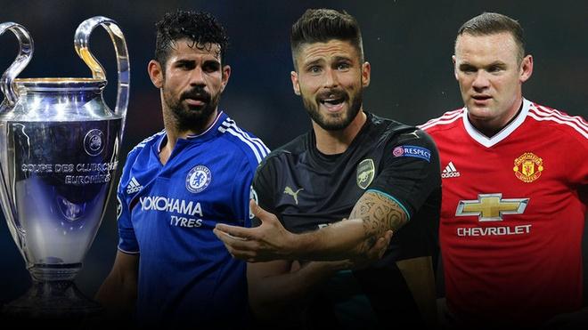 Arsenal, MU va Chelsea can gi de di tiep tai Cup C1 hinh anh