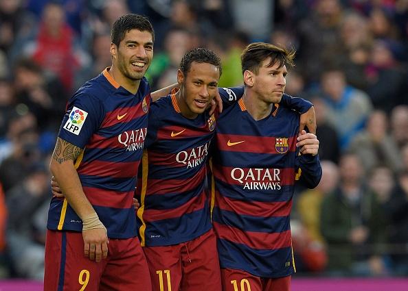Tam tau Messi - Suarez - Neymar giup Barca ha Sociedad 4-0 hinh anh