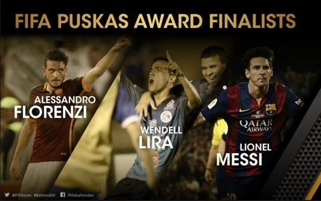Messi lot vao top 3 de cu danh hieu Puskas hinh anh