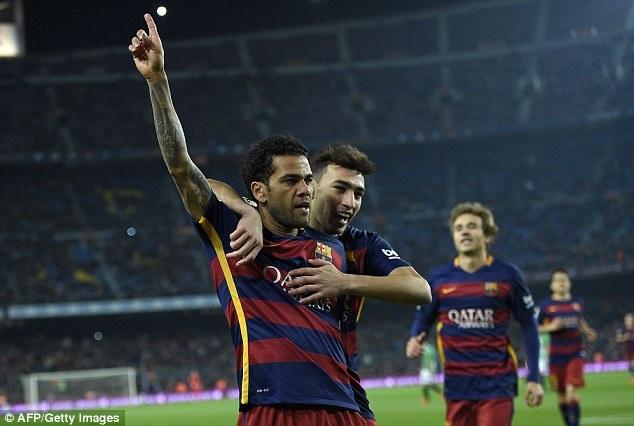 Barca thang 6-1 du vang bo ba Messi - Suarez - Neymar hinh anh