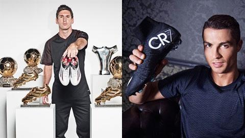 """LeBron James ky hop dong ky luc 500 trieu USD hinh anh 2 Hợp đồng của Messi với Adidas và của CR7 với Nike  vẫn quá """"lùn"""" so với hợp đồng của James với Nike"""