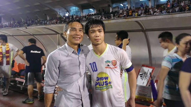 Bo Cong Phuong: 'Con toi len Tuyen choi kem hon o HAGL' hinh anh
