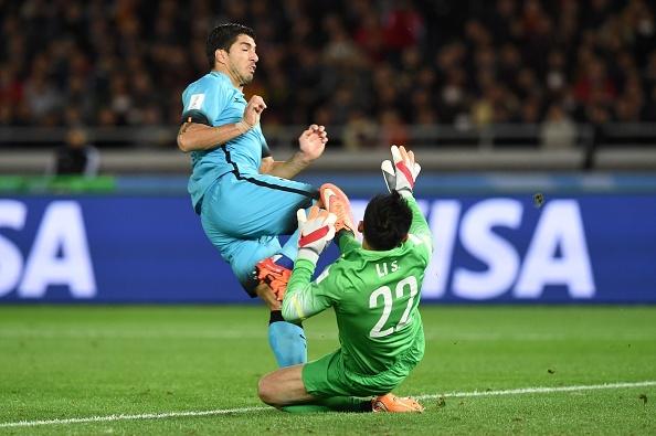 Suarez lap hat-trick, Barca gap River Plate o chung ket hinh anh 13