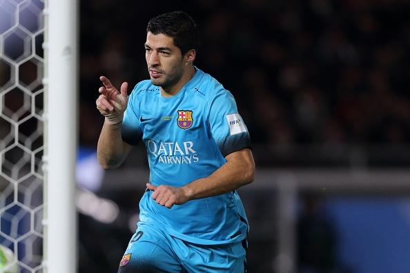 Suarez lap hat-trick, Barca gap River Plate o chung ket hinh anh 1