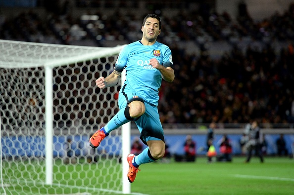 Suarez lap hat-trick, Barca gap River Plate o chung ket hinh anh 17