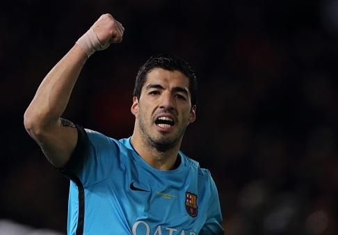 Suarez lap hat-trick, Barca gap River Plate o chung ket hinh anh