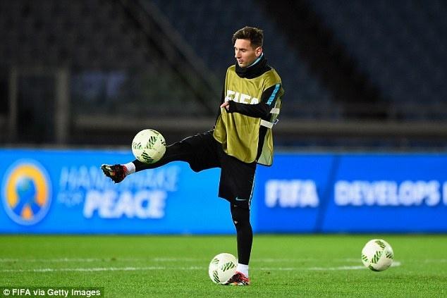 Messi, Neymar san sang du chung ket FIFA Club World Cup hinh anh 4