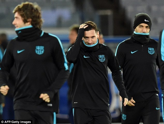 Messi, Neymar san sang du chung ket FIFA Club World Cup hinh anh 1