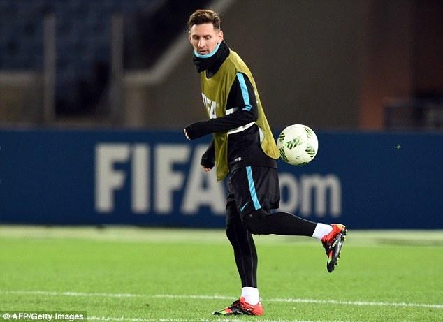 Messi, Neymar san sang du chung ket FIFA Club World Cup hinh anh 5