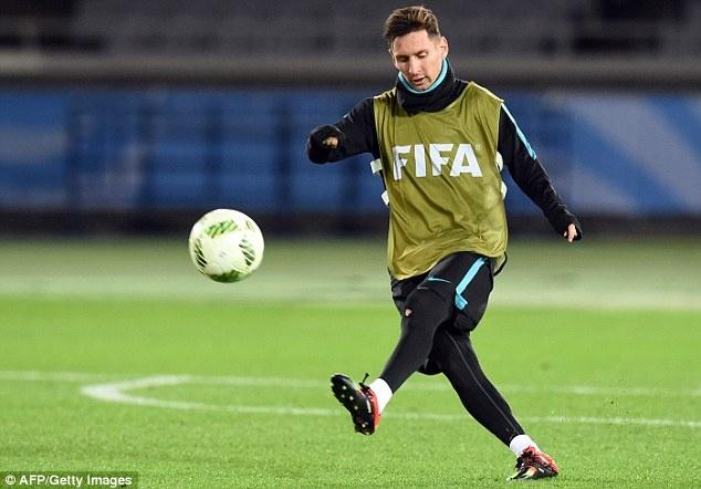 Messi, Neymar san sang du chung ket FIFA Club World Cup hinh anh 6