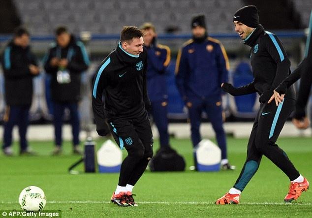 Messi, Neymar san sang du chung ket FIFA Club World Cup hinh anh 9